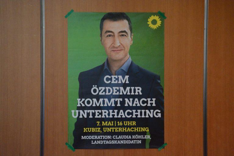 Cem Özdemir in Unterhaching – 07.05.2018