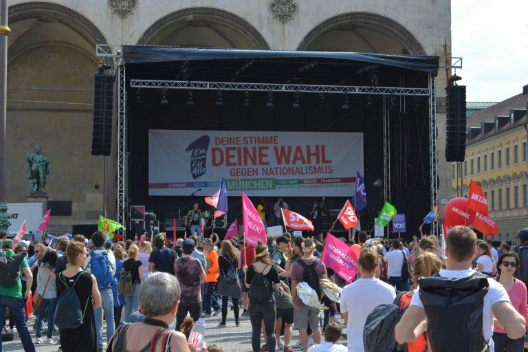 """Demo """"Ein Europa für alle"""" – 19. Mai 2019"""