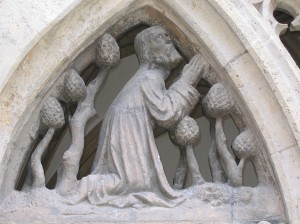Relief im Kreuzgang des Eichstätter Doms