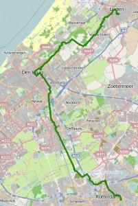 Track Rotterdam-Leiden