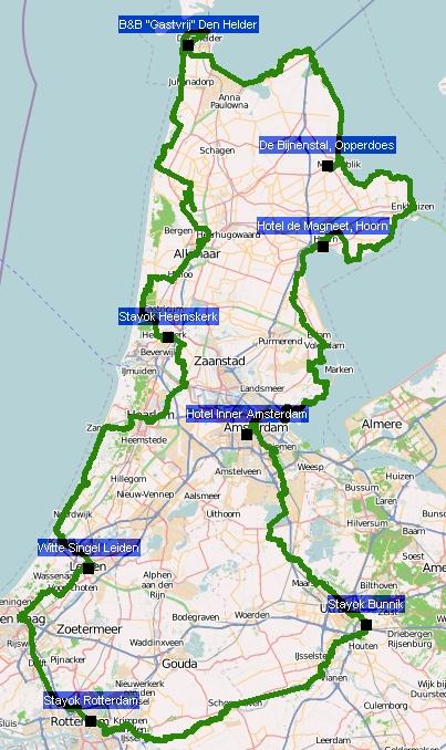 Track Holland-Radtour 2010