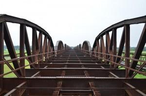 Eisenbahnbrücke bei Dömitz