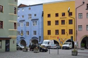 Wasserburger Häuserfassaden