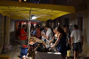Abendlicher Markt