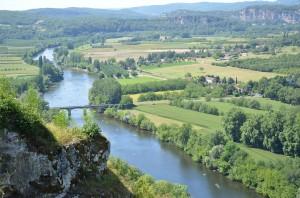 Blick über das Tal der Dordogne