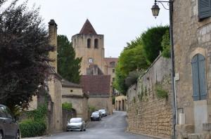 Straße in St.Cyprien