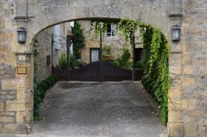 Toreingang in St. Cyprien