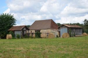 Bauernhof an der Dordogne