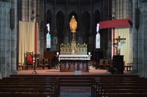 Altar in Notre Dame, Bergerac