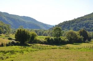 Landschaft vor Argentat