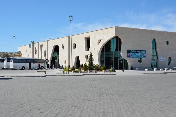 Busbahnhof bei Nevsehir