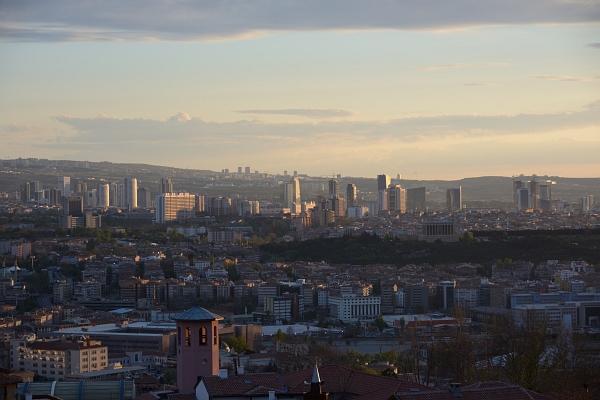 Ankara: Blick von der Zitadelle