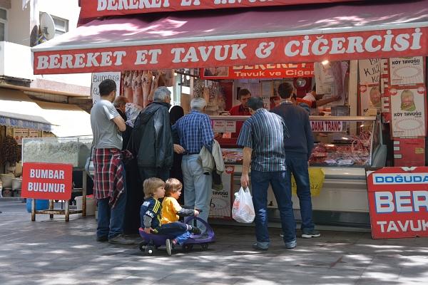 Metzgerei in Istanbul