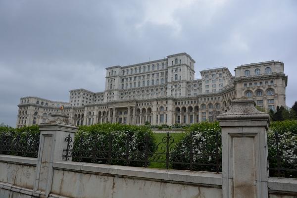 Bukarest: Parlamentsgebäude