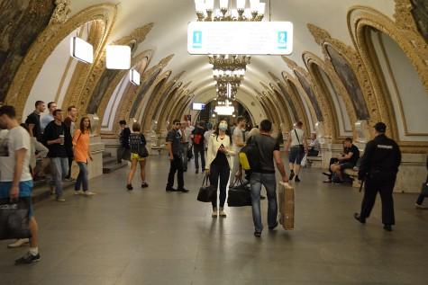 Moskau - Metrostation
