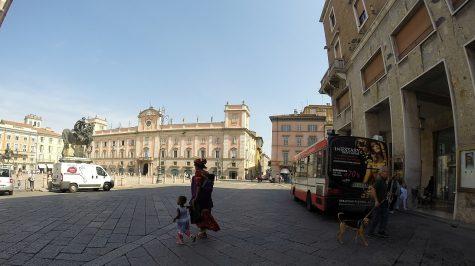 Piacenza - Piazza dei Cavalli