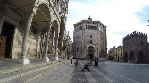 Cremona - Piazza del Comune mit Dom und Baptisterium