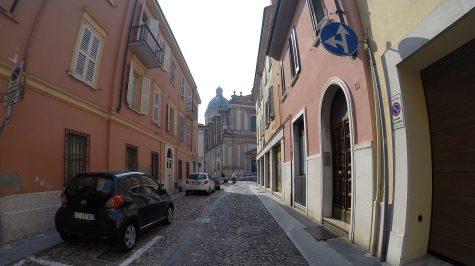 Straßenszene in Mantova