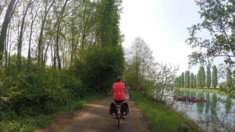 Radweg am Mincio
