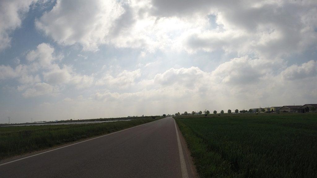 Landschaft in der Po-Ebene