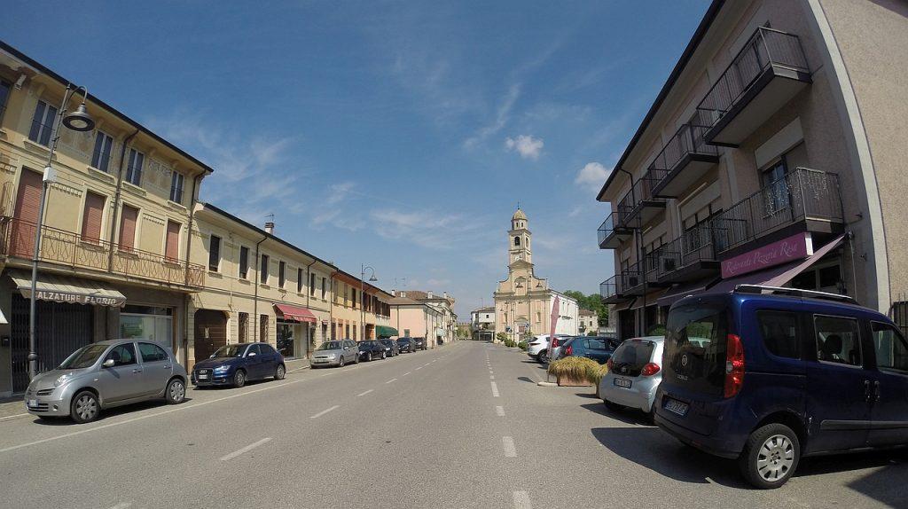 Straße in Villimpenta