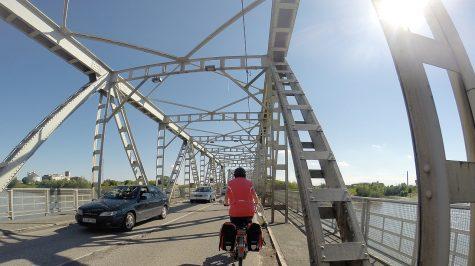 Brücke über den Po vor Ferrara