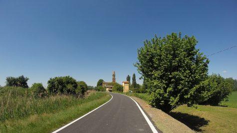 Kirche bei Ponticelli di Malalbergo