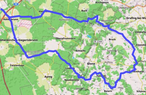 Track auf Karte